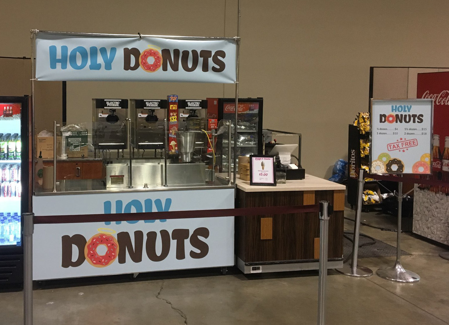 holy donuts fan expo booth crop